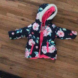Baby girl winter coat